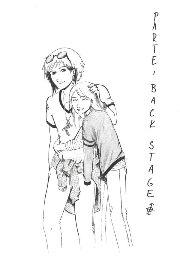 Parte Backstage by Lucak-chan