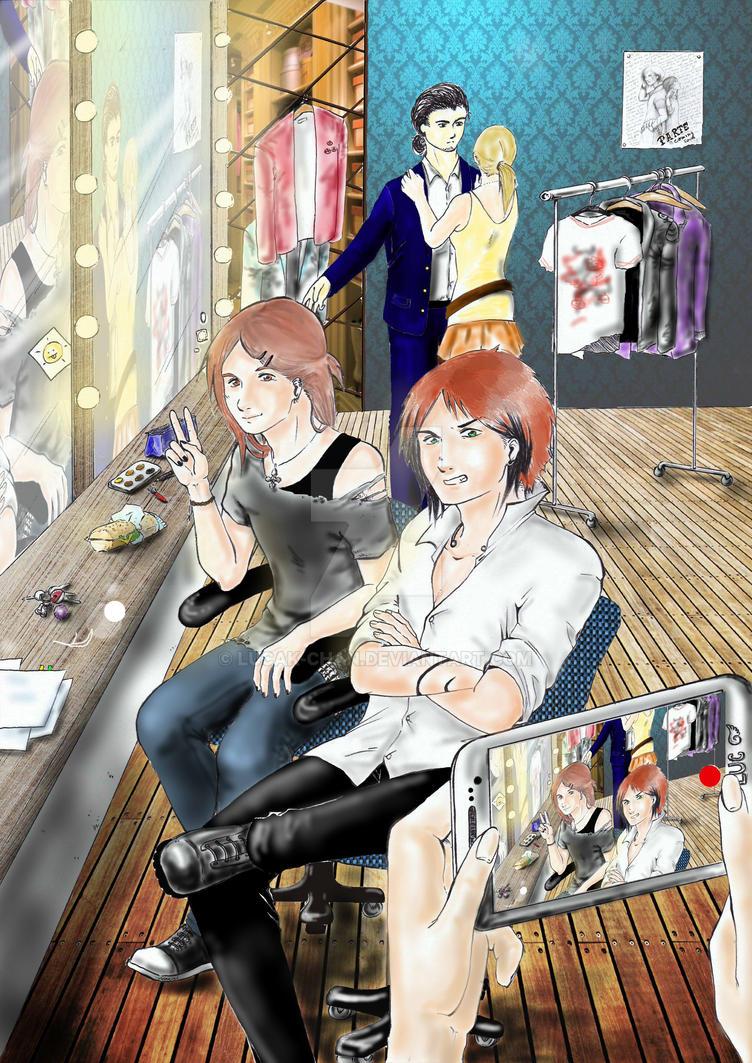 Backstage by Lucak-chan