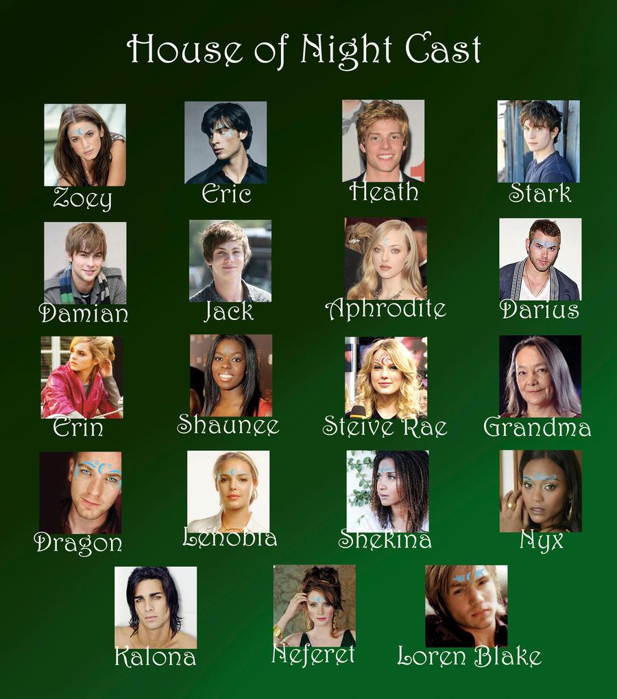 House of Night Movie Cast