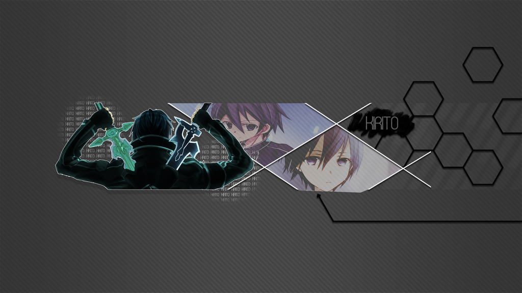 kirigaya kazuto youtube banner 2013 by candycaneeditor on deviantart. Black Bedroom Furniture Sets. Home Design Ideas