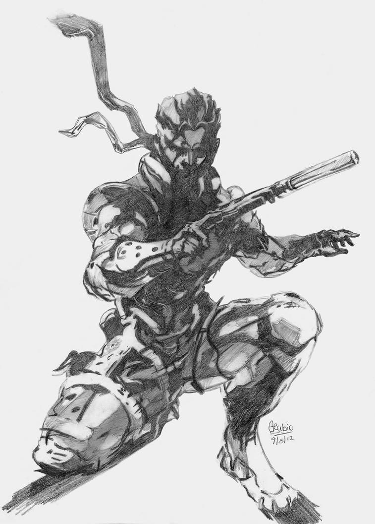 Metal Gear Solid Snake Artwork