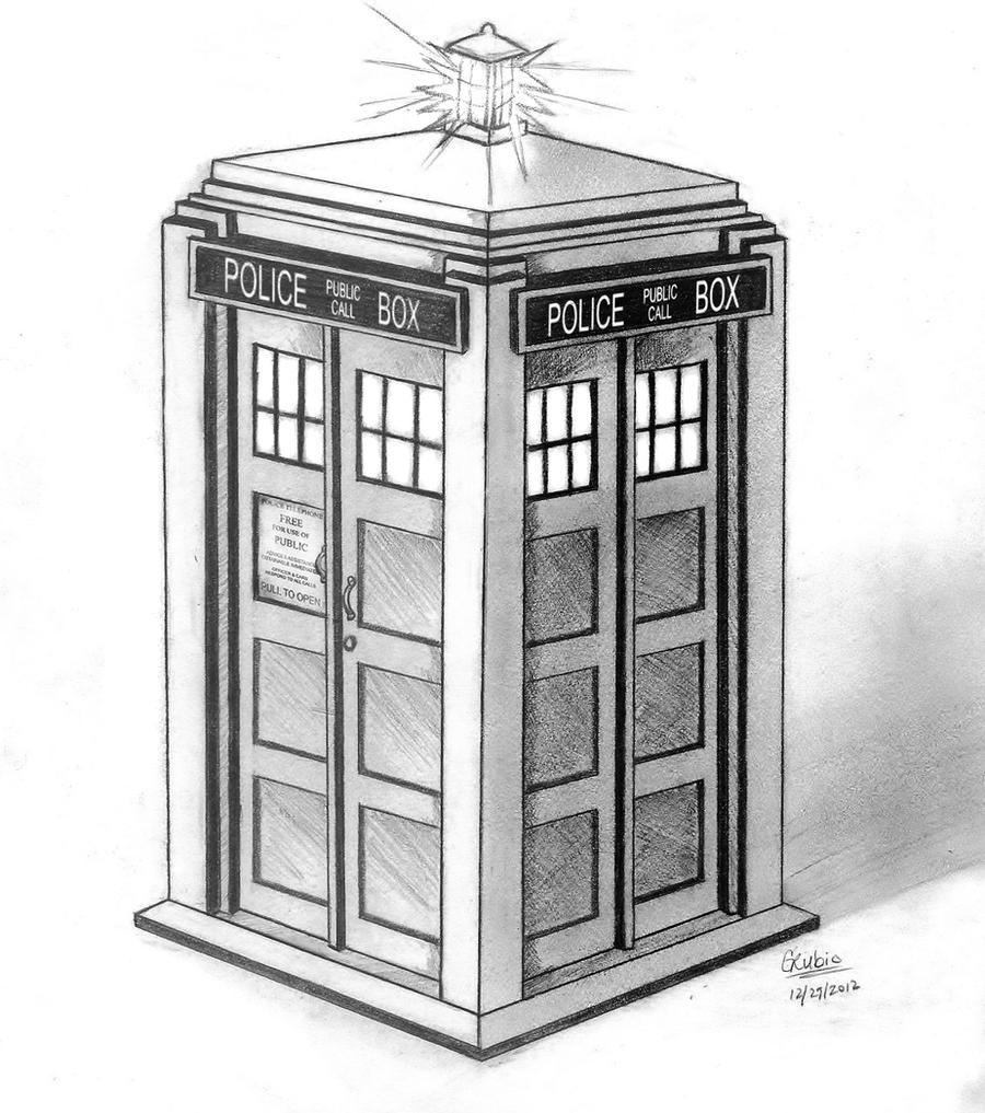 TARDIS by nuclear--nachos