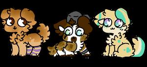3 doggo adopts