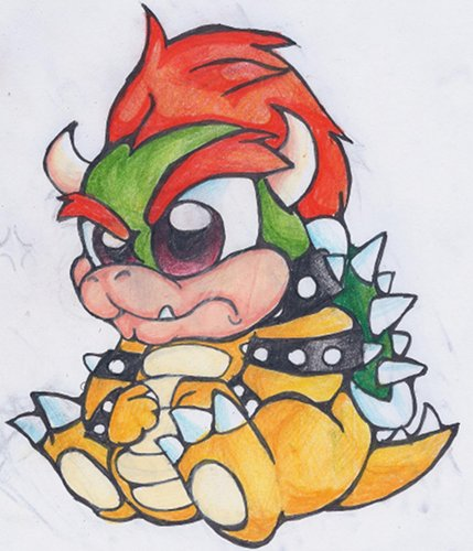 Lil Bowser by Chihuahuadragon