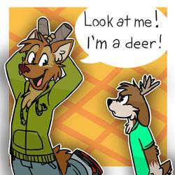 I'm a deer! by ThesePantsDontFit