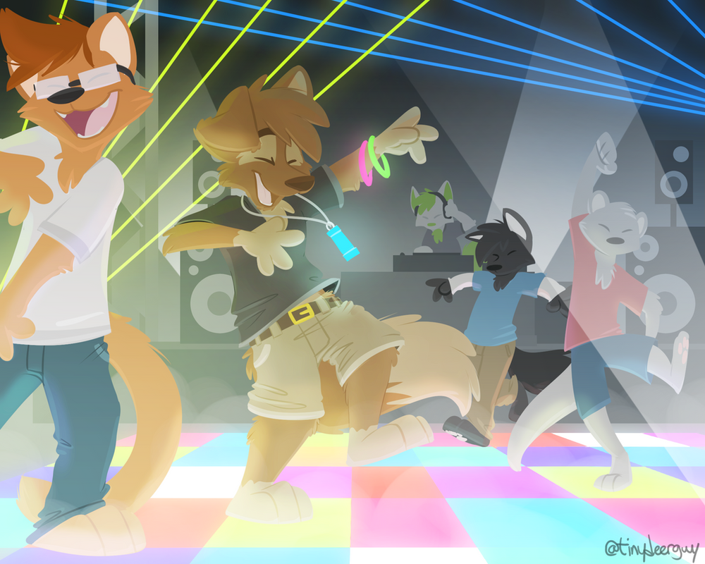ANIMAL PARTY! by ThesePantsDontFit