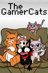 The GamerCats by TheJollyBin