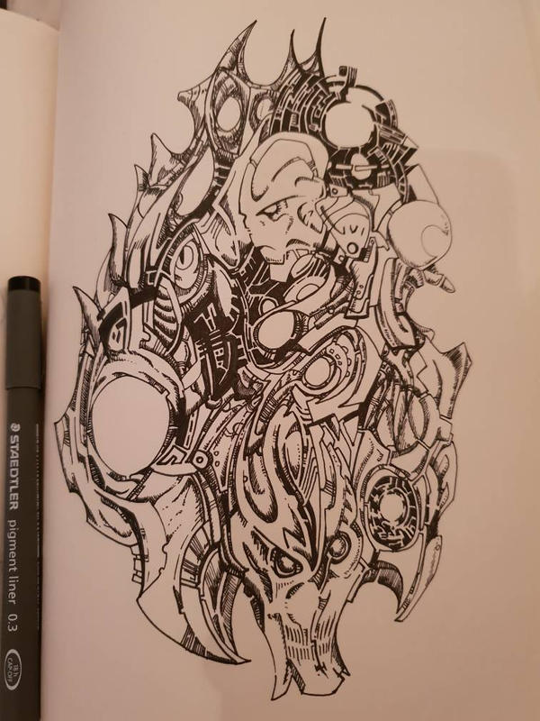 Doodle Page by ludd1te