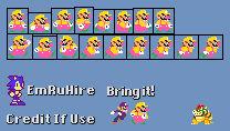 Actual Wario (Super Mario Maker Style)