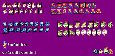 Fixed SMM Sprites by EmRuHire