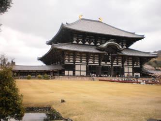 a vast temple