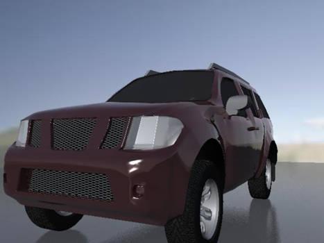 My first cg Car Pathfinder 1