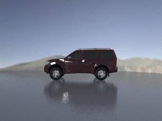 My first cg Car Pathfinder 2