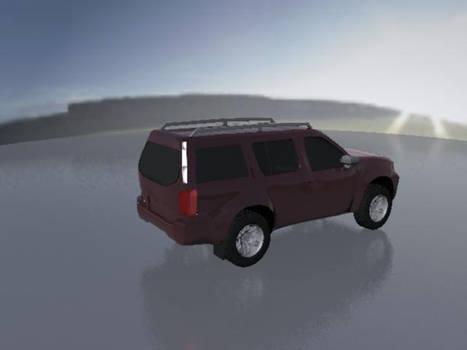 My first cg Car Pathfinder 3