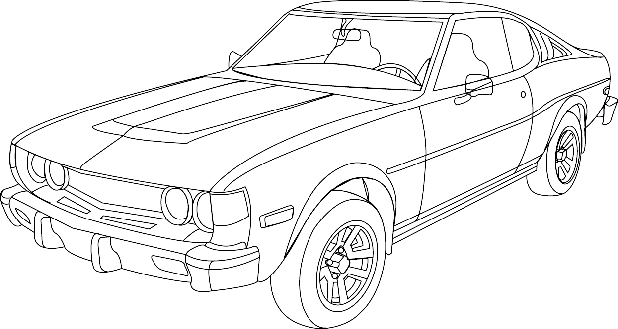 Car Lineart 61331424 as well Cool Car Coloring Pages together with Nissan Gt R likewise 544443042437262466 furthermore Ferrari Pictures To Print And Colour. on ford mustang fast and furious 7