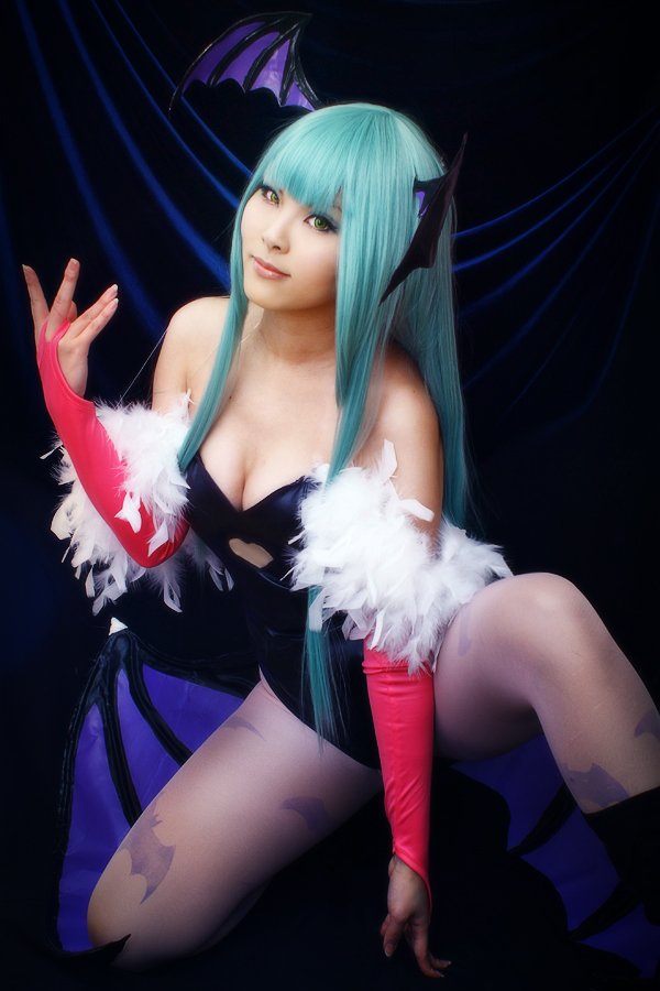 Morrigan Aensland - Vampire Savior by 0kasane0