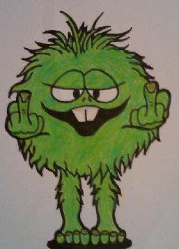 Little Green Guy from the 70's by howardhowitzer