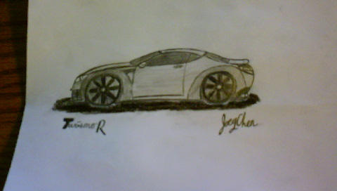 Simple Sports Coupe