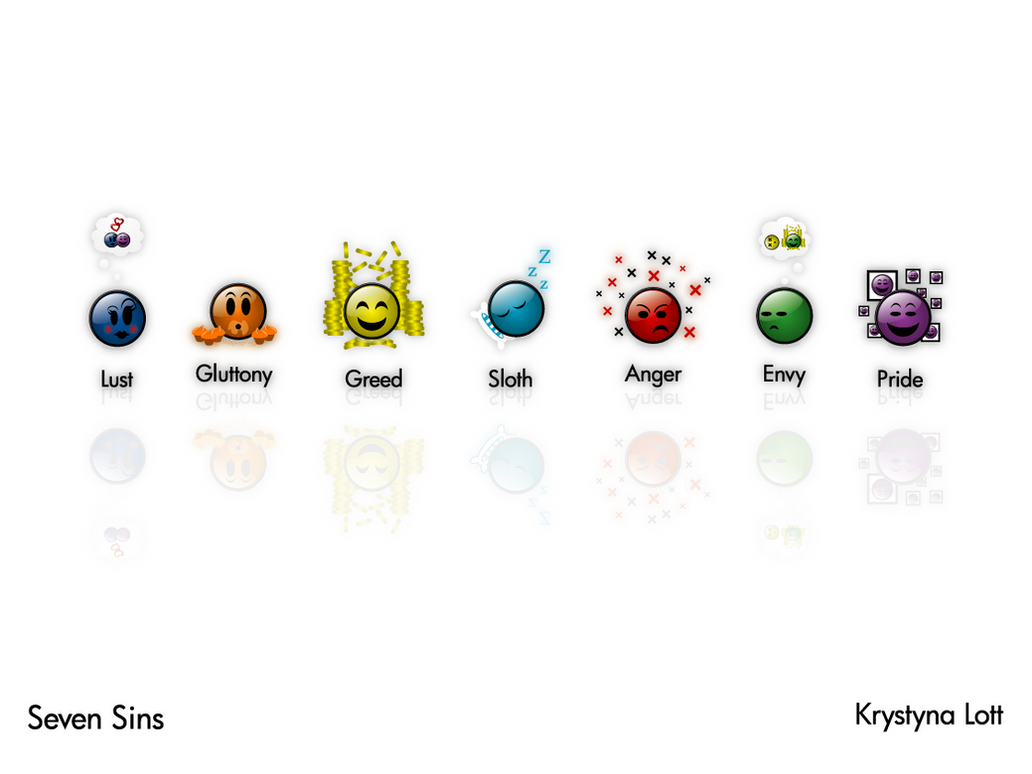 7 Deadly Sins Symbols