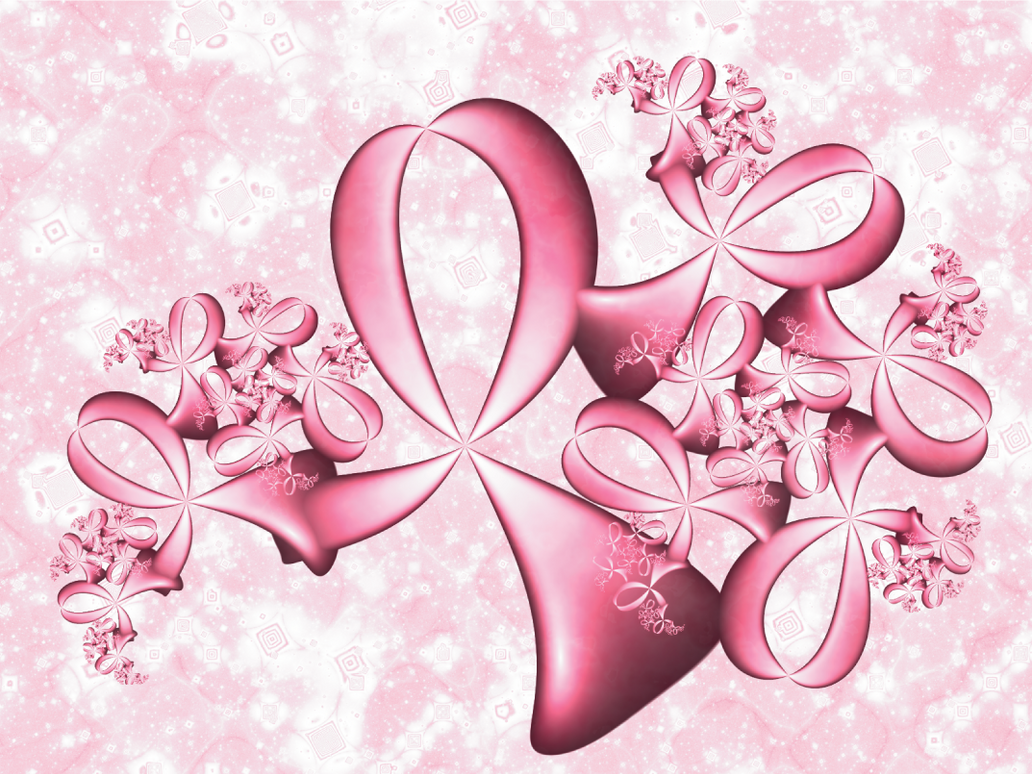 pink ribbons by pimpcesstyna on deviantart