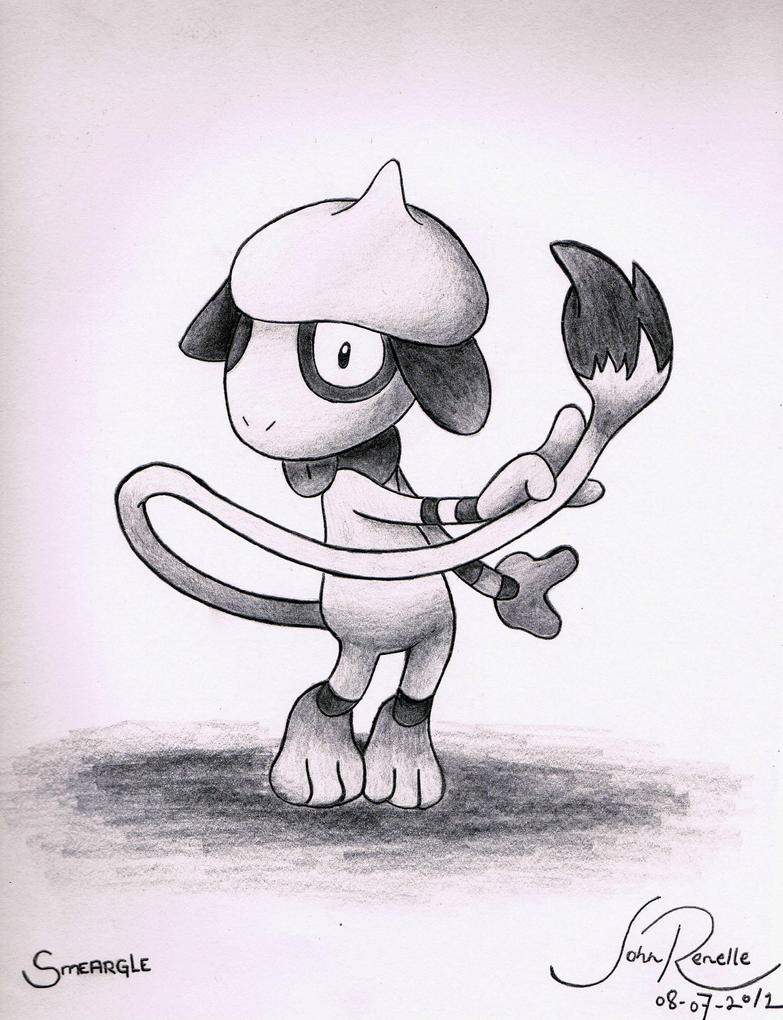 Smeargle by johnrenelle
