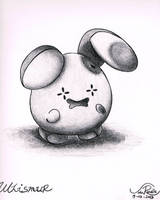 Whismur by johnrenelle