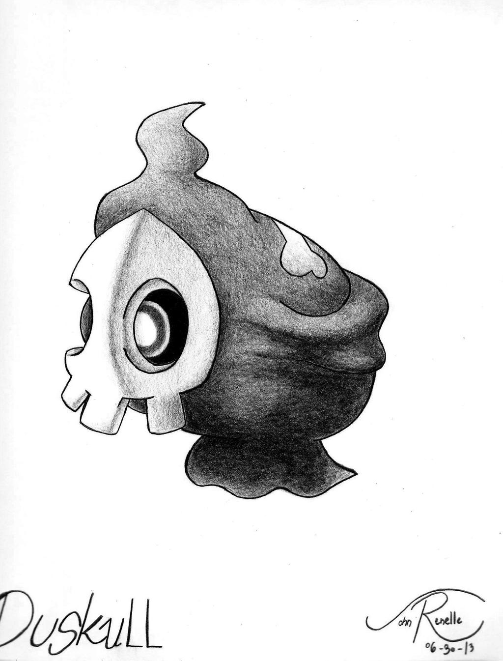 duskull pokemon coloring pages - photo#35