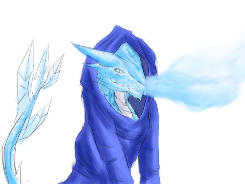 Jack Frost Dragon by emotheferret