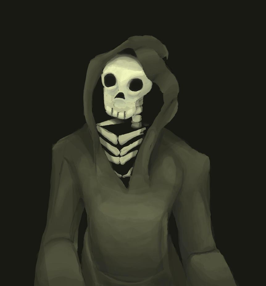 A Grim Portrait by emotheferret