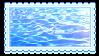 water by glittersludge