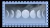 lunar by glittersludge