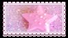 pink star by glittersludge