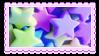 plastic stars by glittersludge