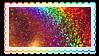rainbow glitter by glittersludge