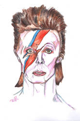 David bowie by uniTSN
