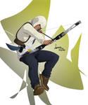 Connor Modern!AU Archer