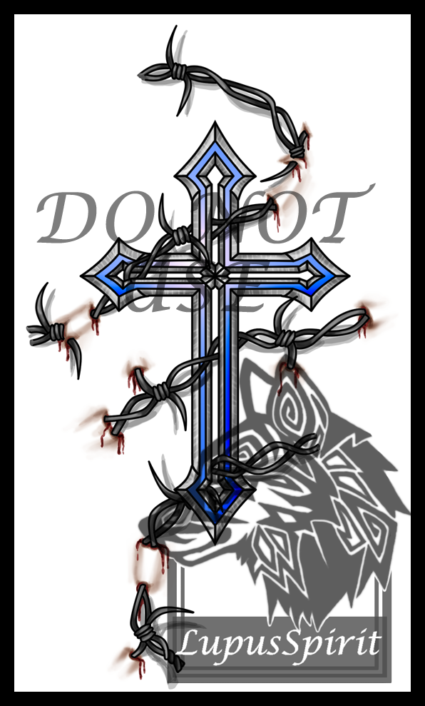 Pin Barbed Wire Cross Tattoos Picture To Pinterest PictureBarbed Wire Cross Tattoos