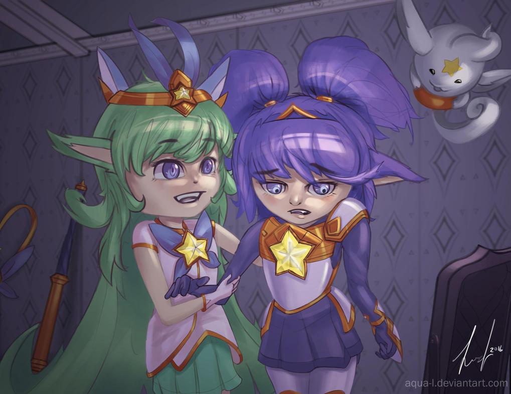 Star Guardian Lulu and Poppy! by aqua-L