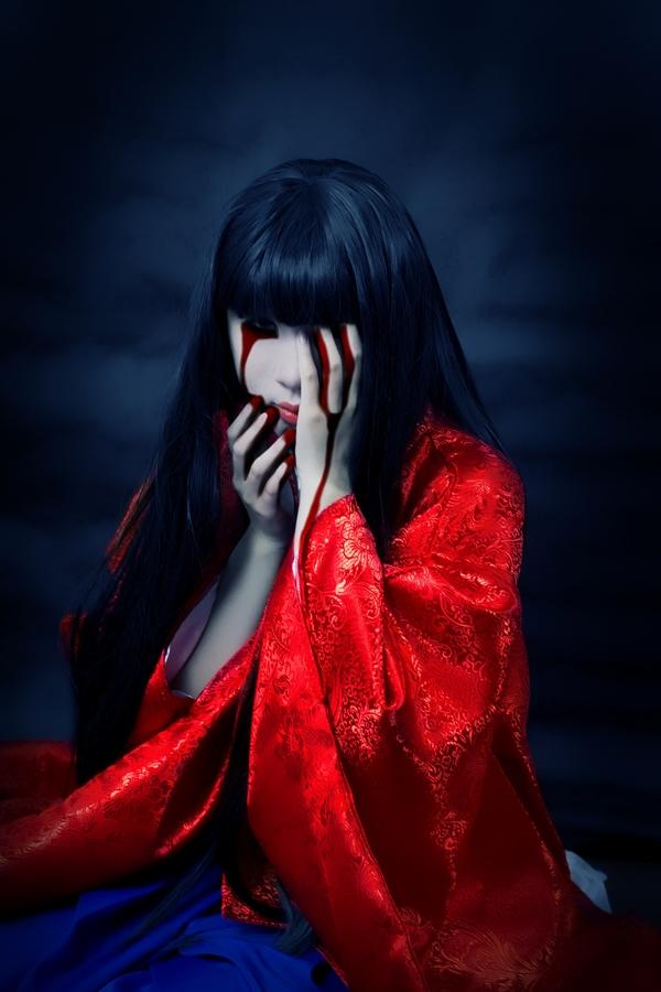 Kuon Sakuya Horror Cosplay by jiaanxu