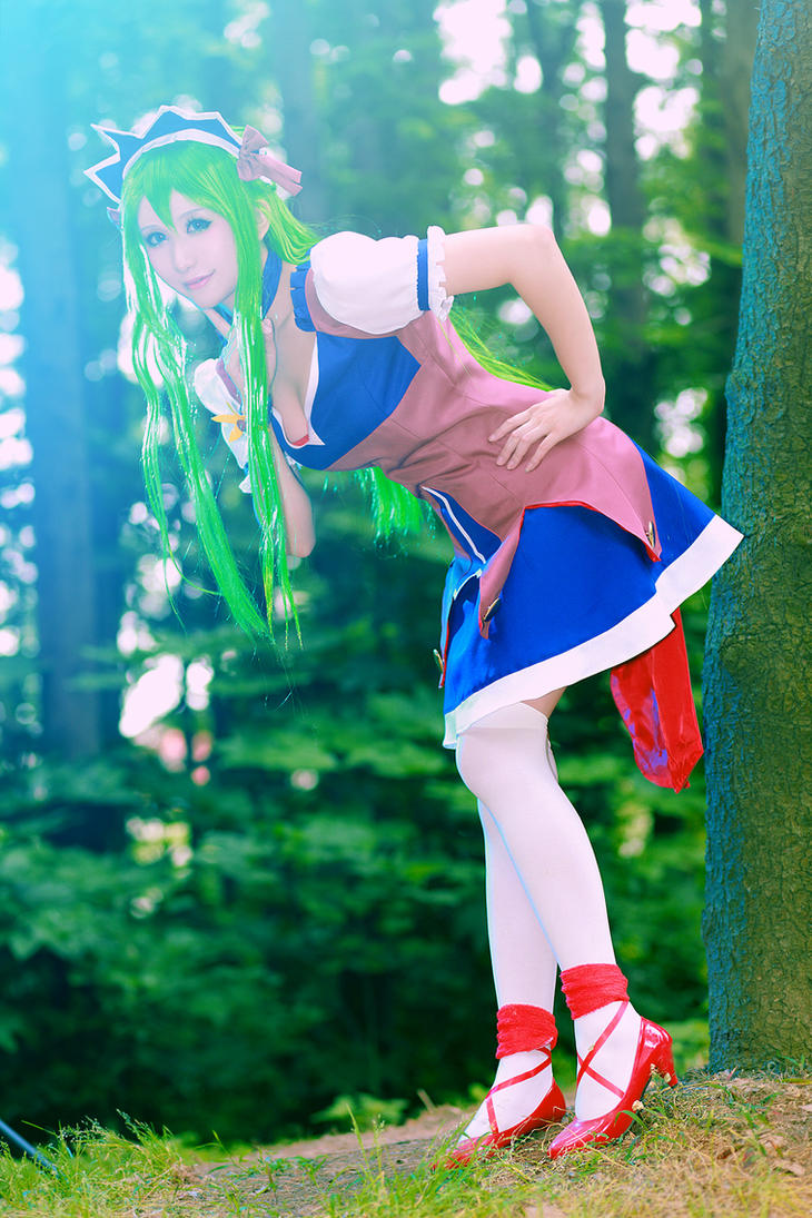 Ixion Saga DT Mariandale Cosplay 02 by jiaanxu