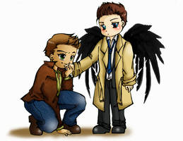 Dean Winchester at ur service,my angel! by Deiriniel