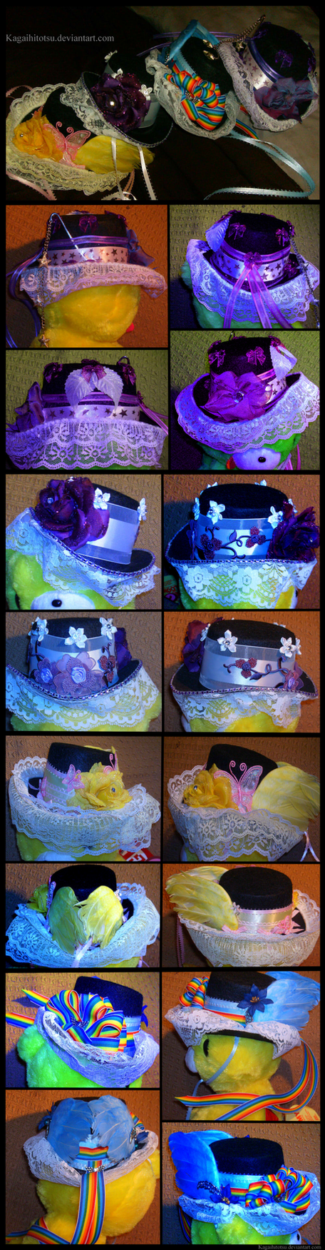 My Little Pony Lolita Top Hats by l-Tanks-l