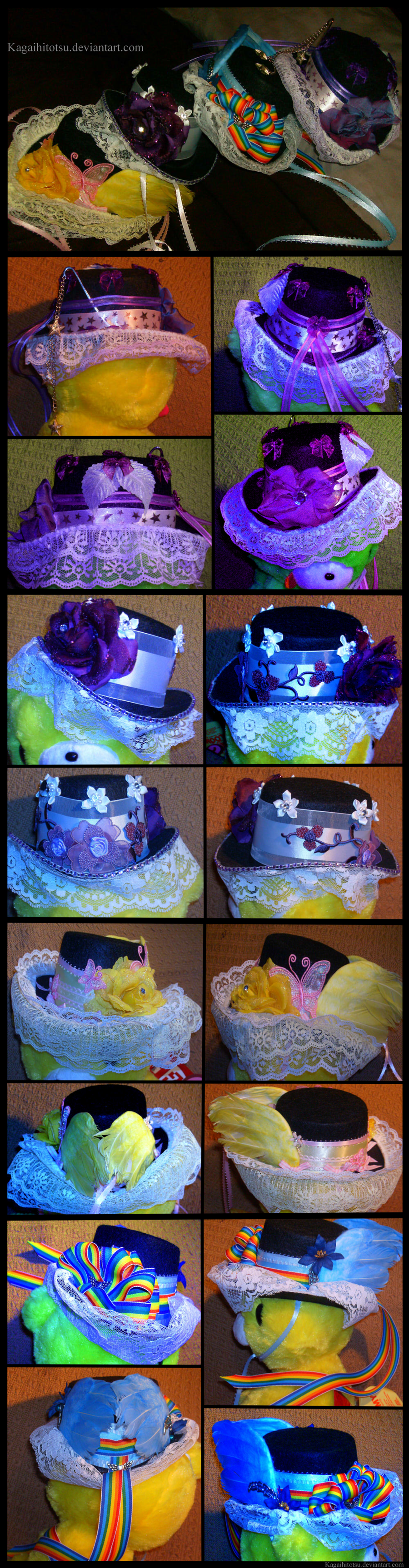 My Little Pony Lolita Top Hats by PhoxTanks