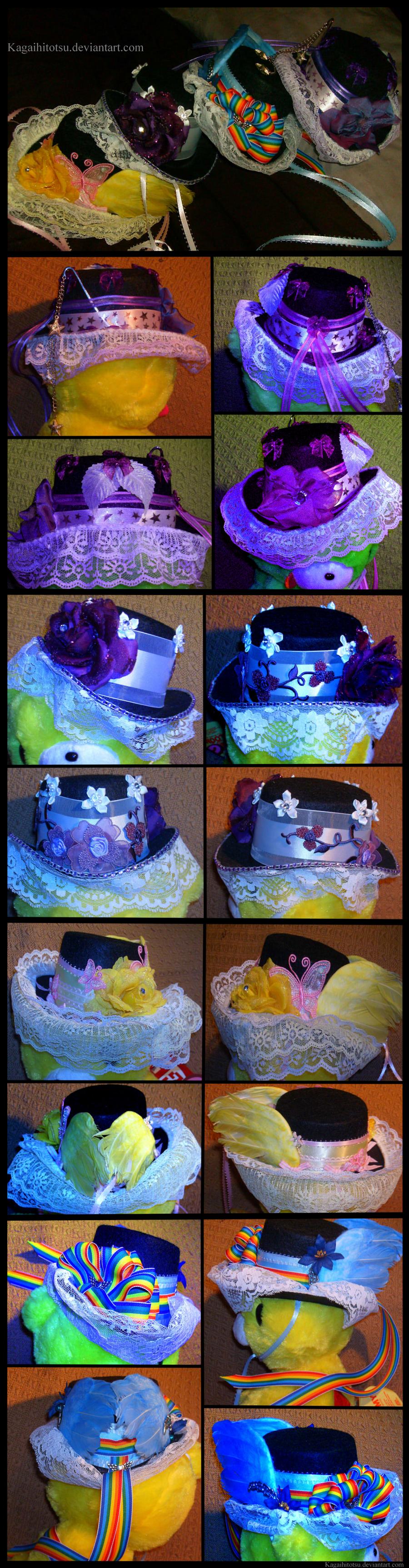 My Little Pony Lolita Top Hats by PhoxTanks