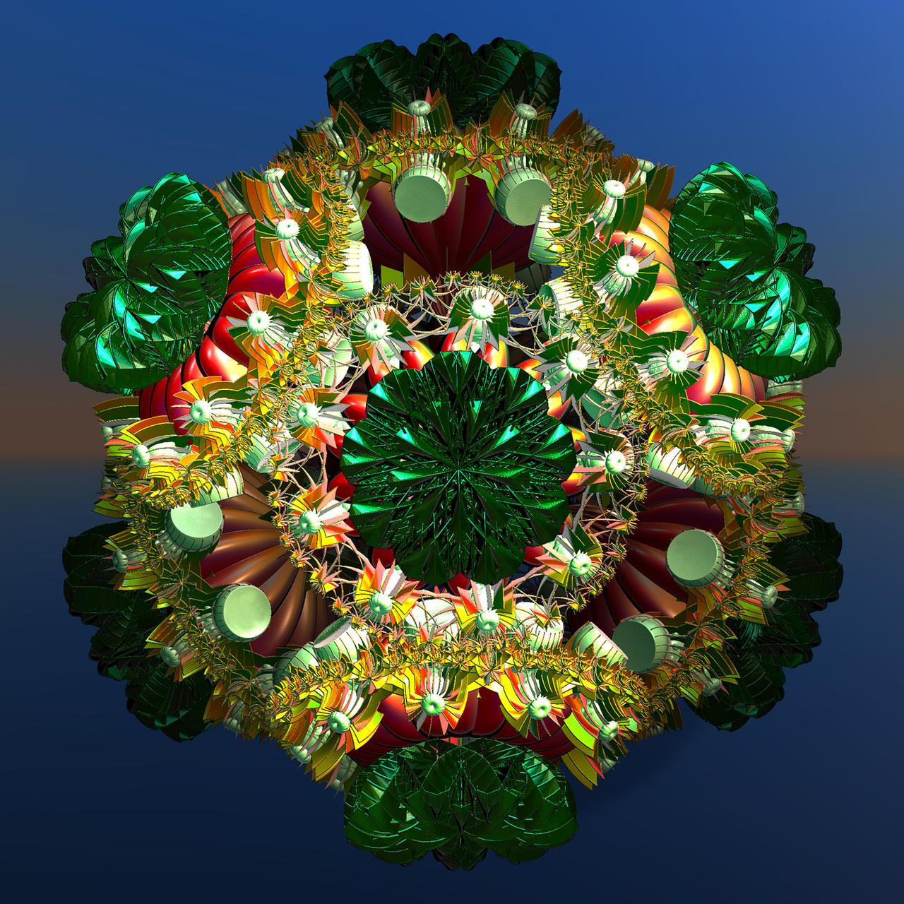 Green Spicky by littleriverqueen