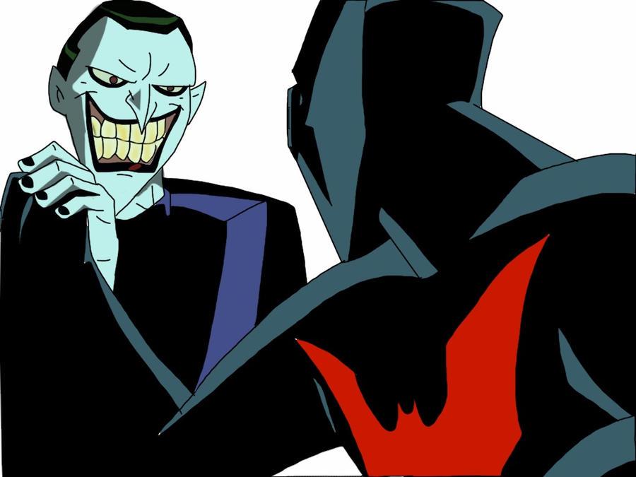 Batman Beyond vs The Joker by XanderComicsInc on DeviantArt