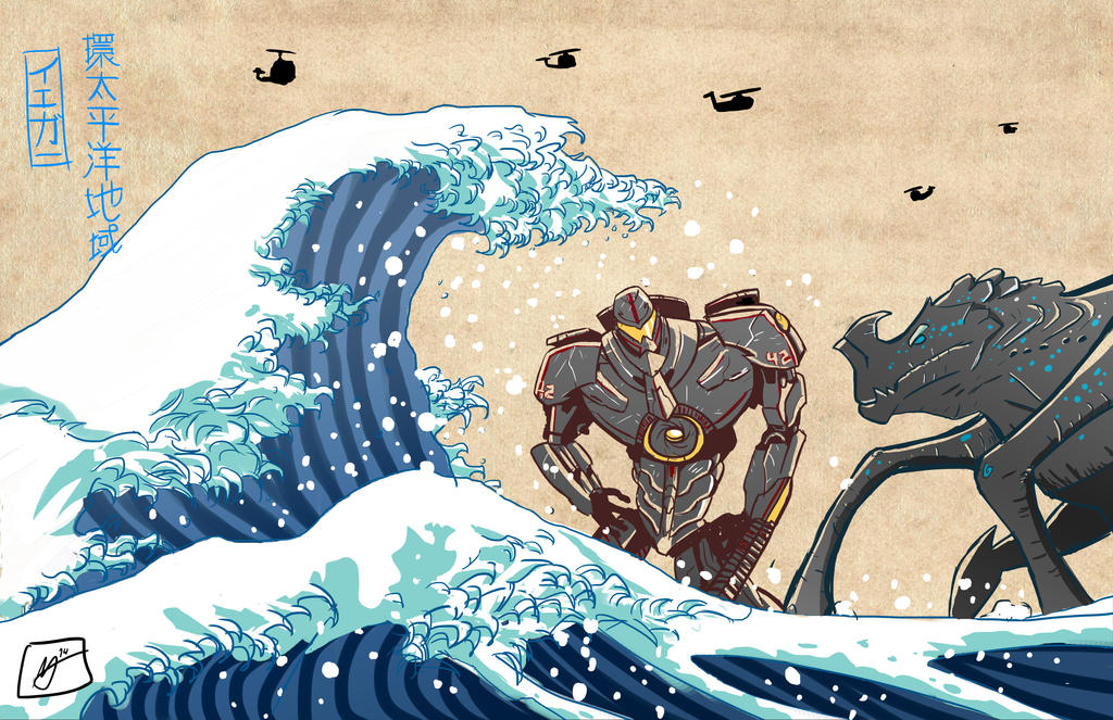 The Great Jaeger Off Kanagawa - Pacific Rim by ...