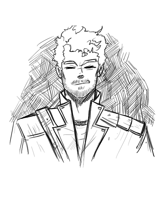 Star Lord Sketch by XanderComicsInc