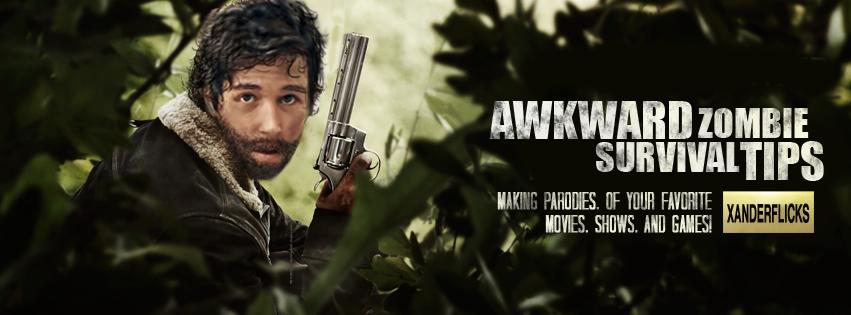 Awkward Zombie Survival Tips - Banner by XanderComicsInc