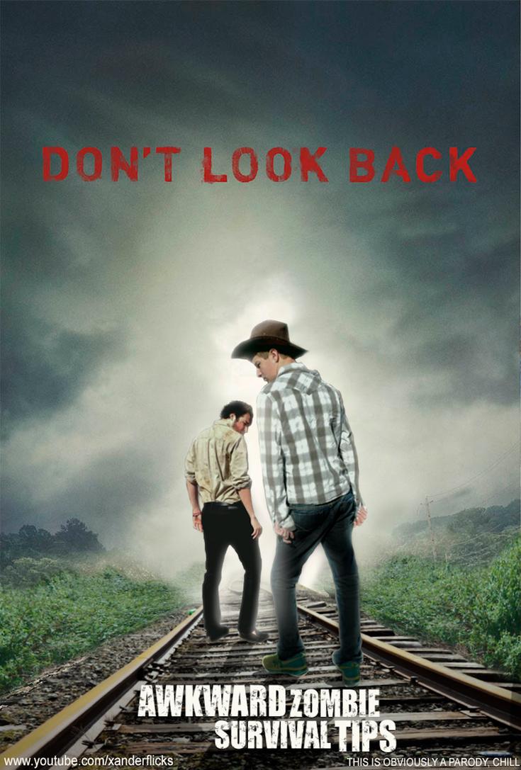 Awkward Zombie Survival Tips - Poster by XanderComicsInc